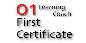 01 Learning Coach First Certificate